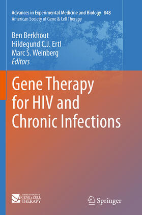 Berkhout / Weinberg / Ertl | Gene Therapy for HIV and Chronic Infections | Buch | sack.de