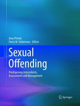 Phenix / Hoberman   Sexual Offending   Buch   sack.de