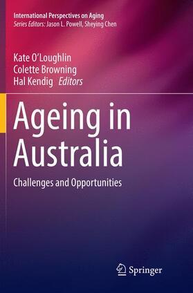 O'Loughlin / Browning / Kendig | Ageing in Australia | Buch | sack.de