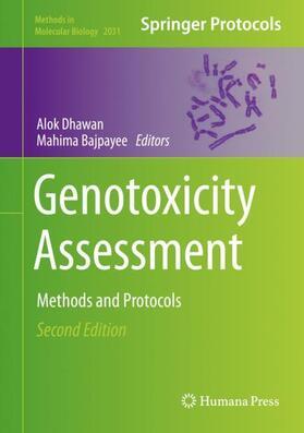 Dhawan / Bajpayee | Genotoxicity Assessment | Buch | sack.de