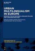 Caliendo / Janssens / Slembrouck    Urban Multilingualism in Europe   eBook   Sack Fachmedien