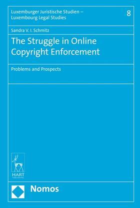 Schmitz | The Struggle in Online Copyright Enforcement | Buch | sack.de