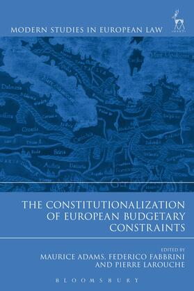 Adams / Fabbrini / Larouche | Constitutionalization of European Budgetary Constraints | Buch | sack.de
