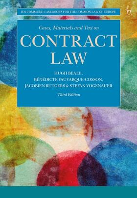 Rutgers / Beale / Fauvarque-Cosson | Cases, Materials and Text on Contract Law | Buch | sack.de