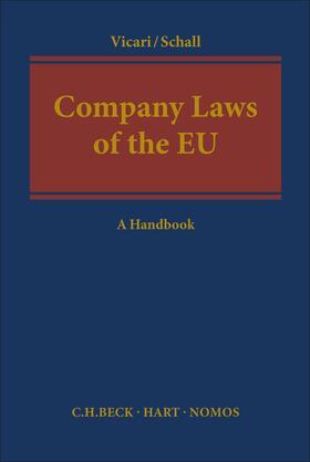 Vicari / Schall | Company Laws of the EU | Buch | sack.de