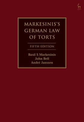 Markesinis / Bell / Janssen | Markesinis's German Law of Torts | Buch | sack.de