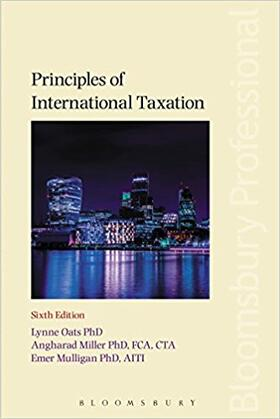 Oats / Miller / Mulligan | Principles of International Taxation | Buch | sack.de
