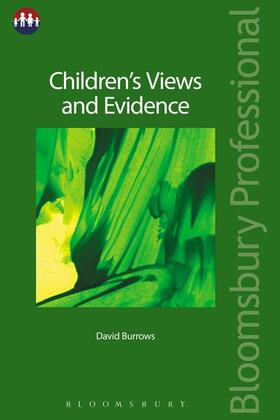 Burrows | Children's Views and Evidence | Buch | sack.de