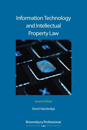 Bainbridge | Information Technology and Intellectual Property Law | Buch | sack.de