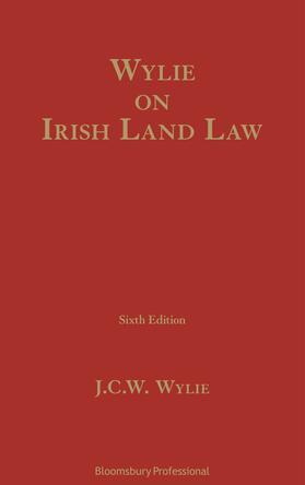 Wylie | Wylie on Irish Land Law | Buch | sack.de