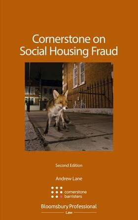 Lane / Barristers | Cornerstone on Social Housing Fraud | Buch | sack.de