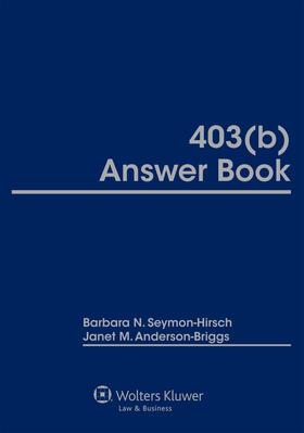 Staff | 403(b) Answer Book | Buch | sack.de