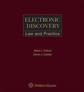 Cohen / Lender | Electronic Discovery | Loseblattwerk | sack.de