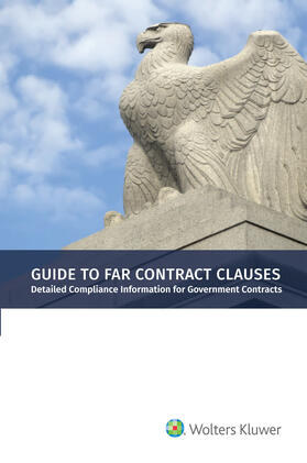 Staff   Guide to FAR Contract Clauses   Buch   sack.de