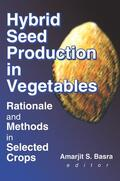 Basra    Hybrid Seed Production in Vegetables   Buch    Sack Fachmedien