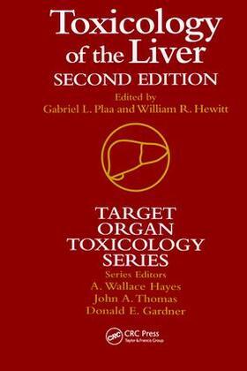 Plaa / Hewitt | Toxicology of the Liver | Buch | sack.de