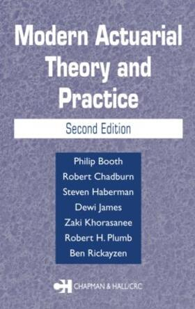 Booth / Chadburn / Haberman | Modern Actuarial Theory and Practice | Buch | sack.de