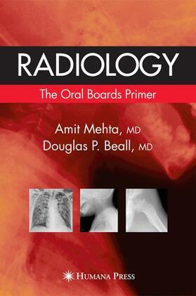 Mehta / Beall | Radiology, w. CD-ROM | Buch | sack.de