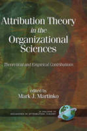 Attribution Theory in the Organizational Sciences | Buch | sack.de