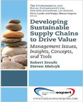Sroufe / Melnyk | Developing Sustainable Supply Chains to Drive Value: Management Issues, Insights, Concepts, and Tools | Buch | sack.de