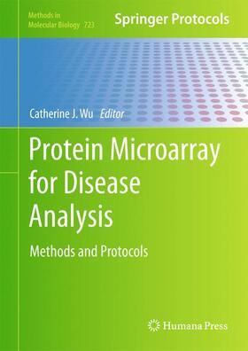 Wu   Protein Microarray for Disease Analysis   Buch   sack.de