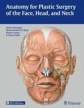 Watanabe / Shoja / Loukas | Anatomy for Plastic Surgery of the Face, Head, and Neck | Buch | sack.de