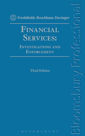 Financial Services: Investigations and Enforcement | Buch | sack.de
