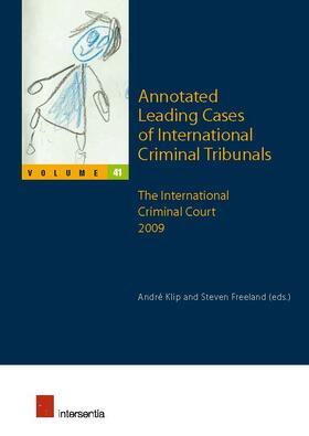 Klip / Freeland | Annotated Leading Cases of International Criminal Tribunals | Buch | sack.de