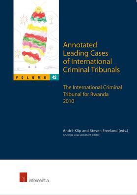 Klip / Freeland / Low | Annotated Leading Cases of International Criminal Tribunals | Buch | sack.de