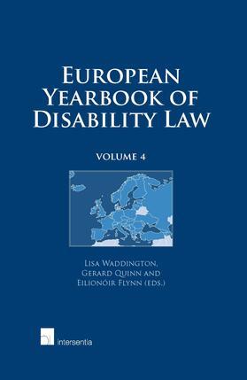 Waddington / Quinn / Flynn   European Yearbook of Disability Law   Buch   sack.de