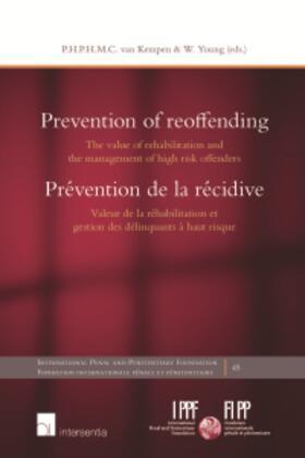 van Kempen / Young | Prevention of reoffending | Buch | sack.de