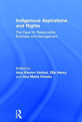 Klemm Verbos / Henry / Peredo | Indigenous Aspirations and Rights | Buch | sack.de