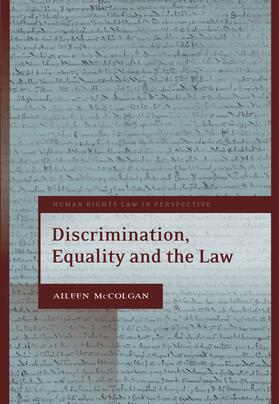 McColgan | Discrimination, Equality and the Law | Buch | Sack Fachmedien