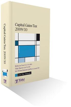 Cave / Harris / Wunschmann-Lyall | Core Tax Annual: Capital Gains Tax 2009/10 | Buch