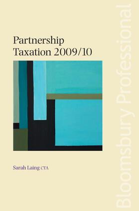 Laing | Partnership Taxation 2009/10 | Buch