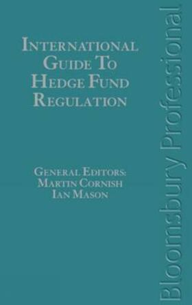 Mason / Cornish | International Guide to Hedge Fund Regulation | Buch | sack.de