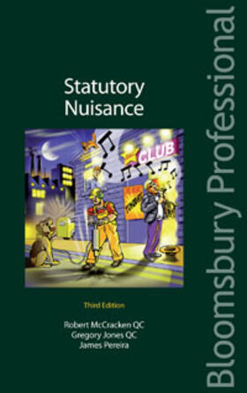 McCracken QC / QC / Pereira QC   Statutory Nuisance   Buch   sack.de
