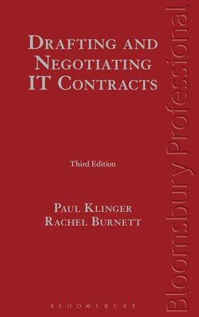 Burnett / Klinger | Drafting and Negotiating It Contracts [With CDROM] | Buch | sack.de