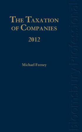 Feeney   The Taxation of Companies 2012   Buch   sack.de