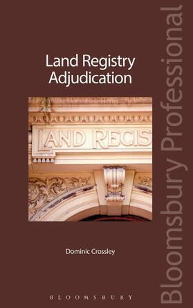 Crossley | Land Registry Adjudication | Buch | sack.de