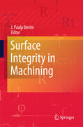 Davim    Surface Integrity in Machining   Buch    Sack Fachmedien