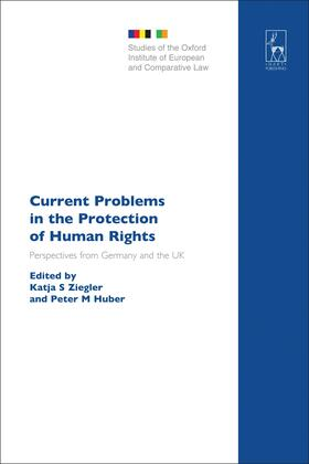 Ziegler / Huber | Current Problems in the Protection of Human Rights | Buch | Sack Fachmedien