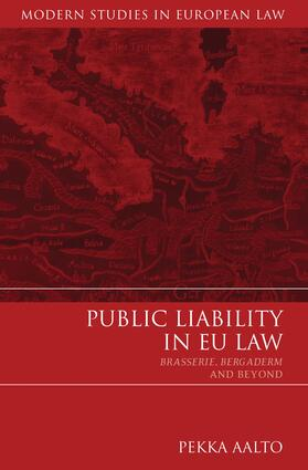 Aalto | Public Liability in EU Law | Buch | sack.de