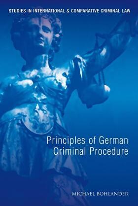 Bohlander | Principles of German Criminal Procedure | Buch | sack.de