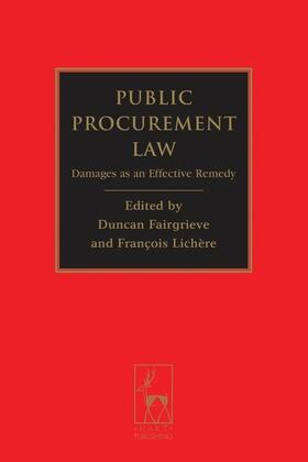 Fairgrieve / Lichere | Public Procurement Law | Buch | Sack Fachmedien