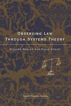 Nobles / Schiff | Observing Law through Systems Theory | Buch