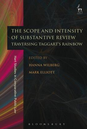 Wilberg / Elliott | The Scope and Intensity of Substantive Review | Buch | sack.de