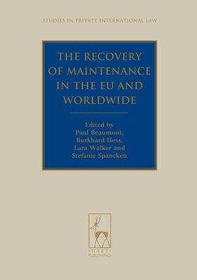 Beaumont / Hess / Walker | The Recovery of Maintenance in the EU and Worldwide | Buch | Sack Fachmedien