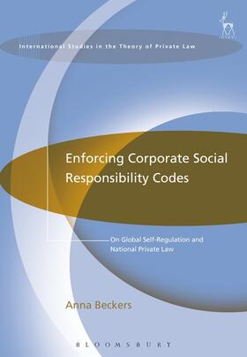 Beckers | Enforcing Corporate Social Responsibility Codes | Buch | sack.de