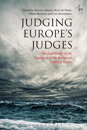 Adams / de Waele / Meeusen | Judging Europe's Judges | Buch | Sack Fachmedien